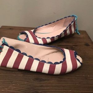 Missoni Nautical Classic Stripped Flats